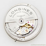 1962 Vintage Longines Grand Prix Reference 1200 Stainless Steel Watch