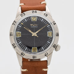 1976 Vintage Wyler Incaflex Ref. 1976-1162-D Stainless Steel Watch
