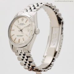 1971 Vintage Rolex Datejust Ref. 1600 Stainless Steel Watch