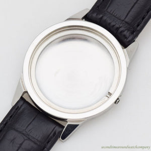 1960's Vintage Benrus 3 Star Reference 7001 Stainless Steel Watch