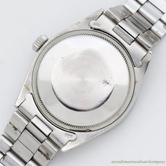 1970 Vintage Rolex Date Automatic Ref. 1501 Stainless Steel Watch