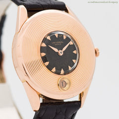 1956 Vintage Universal Geneve 18k Rose Gold Watch