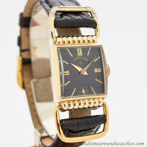 1950 Vintage Elgin 14k Yellow Gold Filled Watch