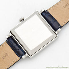 1970's Vintage Zenith Automatic Square-shaped Stainless Steel Watch
