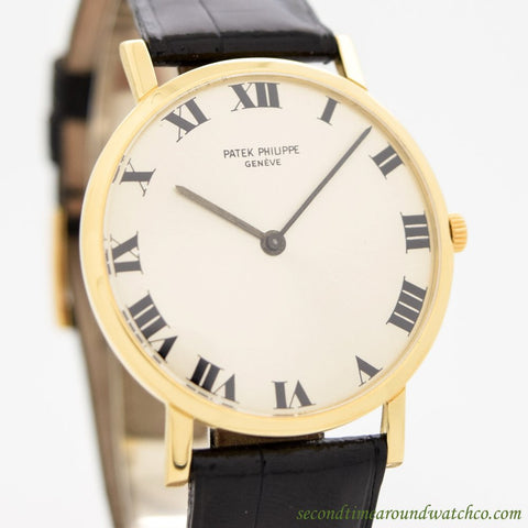 1965 Vintage Patek Philippe Calatrava Ref. 3515 18k Yellow Gold Watch