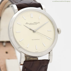 1950 Vintage International Watch Co. Automatic Stainless Steel Watch