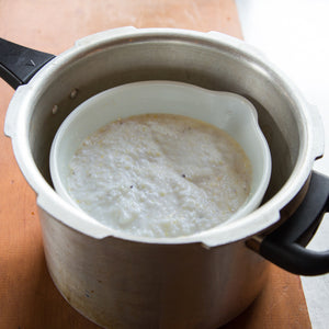 cooking-stone-ground-grits-in-pressure-cooker