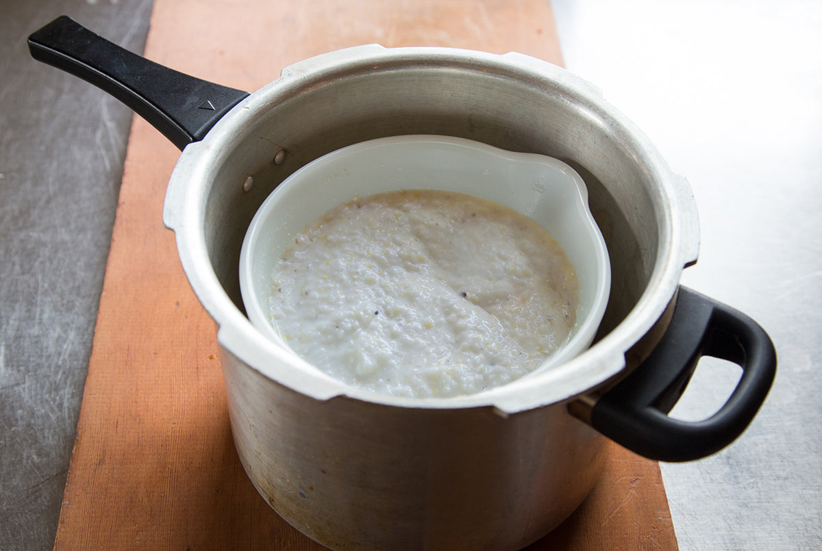 Cooking Grits in a Pressure Cooker