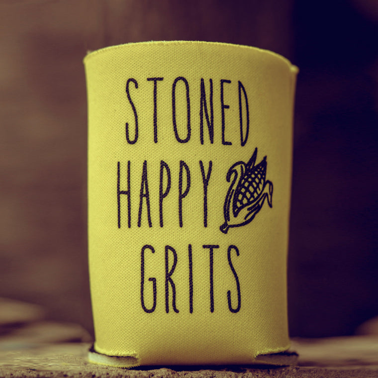 Barkley's Mill Stoned Happy Grits Drink Koozie