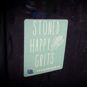 Barkley's Mill Gourmet Stoned Happy Grits Magnet