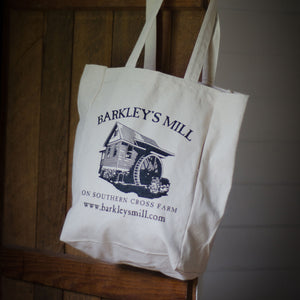 Barkley's Mill Gourmet Heirloom Grits Tote Bag