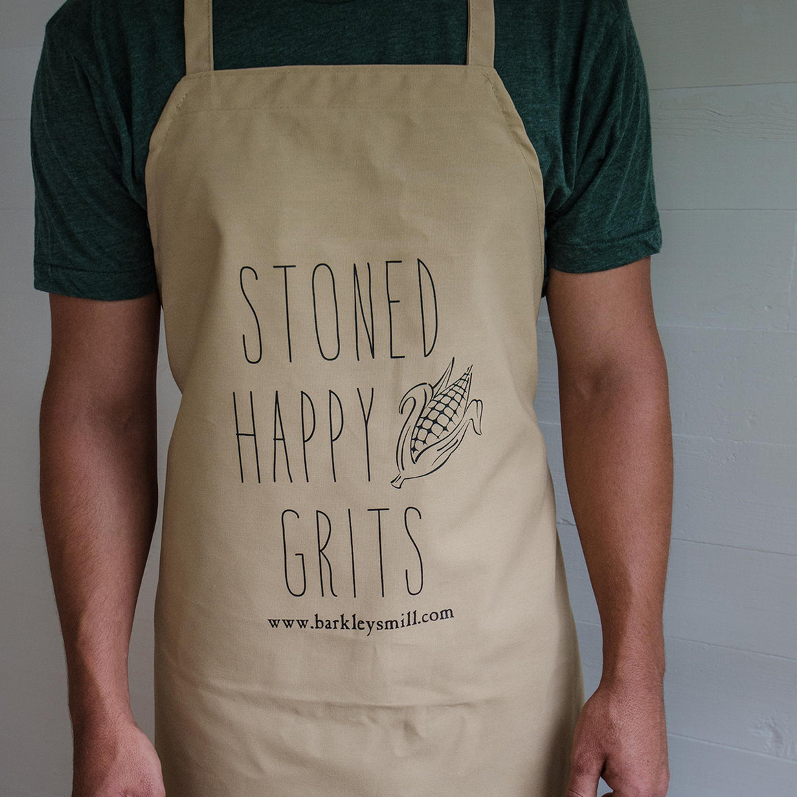 Barkley's Mill Gourmet Stoned Happy Grits Apron