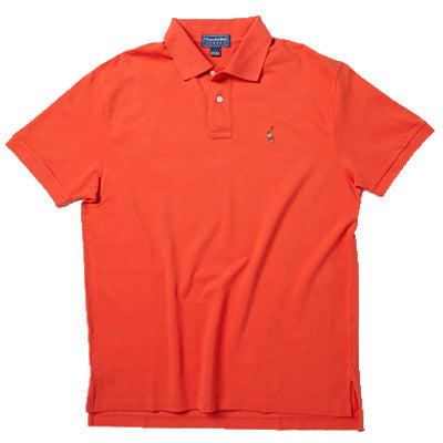 Men's Polo - Burnt Red