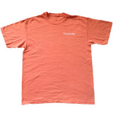 Men's Comfort Tee - Orange/White