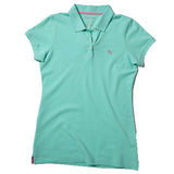 Women's Polo - Aquamarine