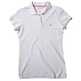 Women's Polo - White