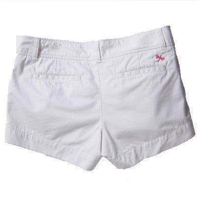 Women's Shorts - White