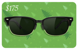 <b>$175 gift card for $150</b><br/> (Covers a pair of prescription sunglasses)