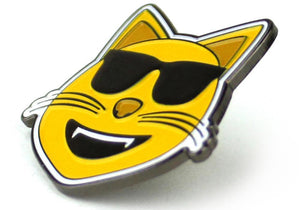 Cool Cat <br/> Enamel Pin