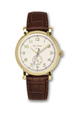 Björn Hendal Varberg Flytande 24 Yellow Gold White Dial Brown Croco