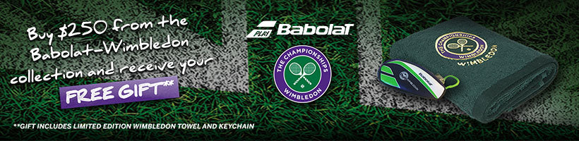 Babolat Wimbledon Gift With Purchase