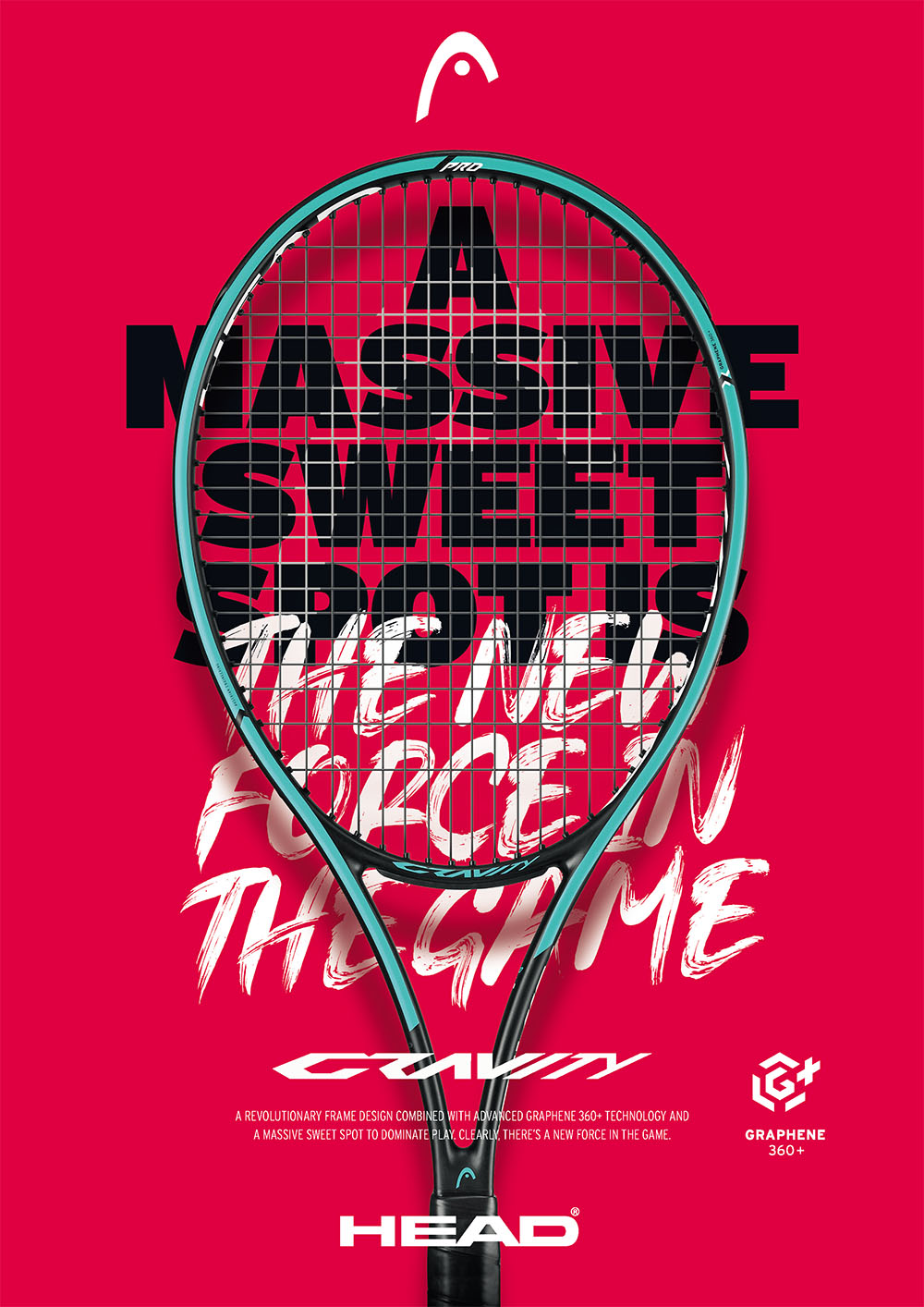 Head Gravity Tennis Racquets: A massive sweet spot is the new force in the game!