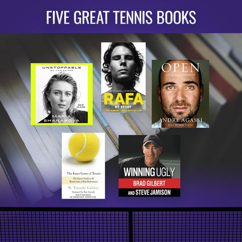 Five Great Tennis Books To Read