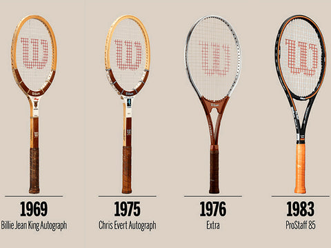 Early Wilson Racquets