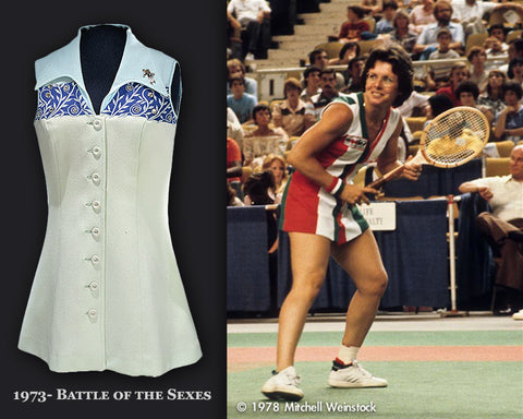 Billie Jean King 1973 and 1978