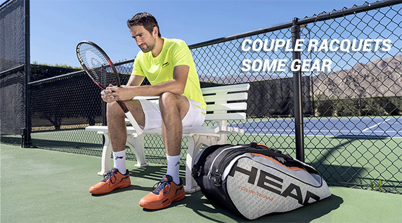 couple racquets some gear