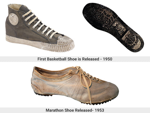 Basketball shoe and Marathon shoe