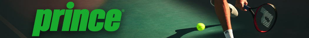 Prince Adult Tennis Racquets Page Banner