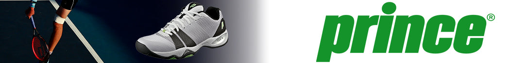 Prince Men's Tennis Shoes Page Banner