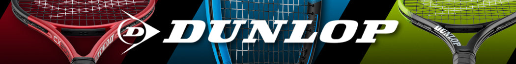 Dunlop Adult Tennis Racquets Page Banner