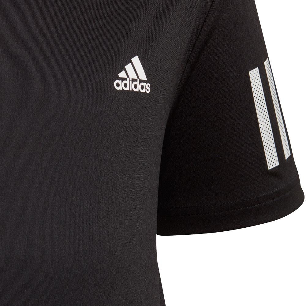 41bd9b3932 adidas Boys Club 3 Stripe Tee - Black – Merchant of Tennis