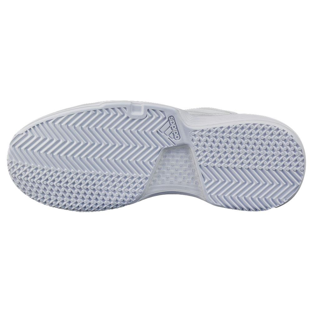 adidas Women's CourtJam Bounce WhiteMatte Silver