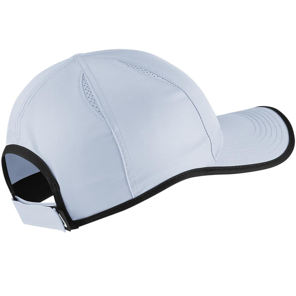 Nike Unisex Aerobill Featherlight Hat - Half Blue Black – Merchant ... f61df75132e