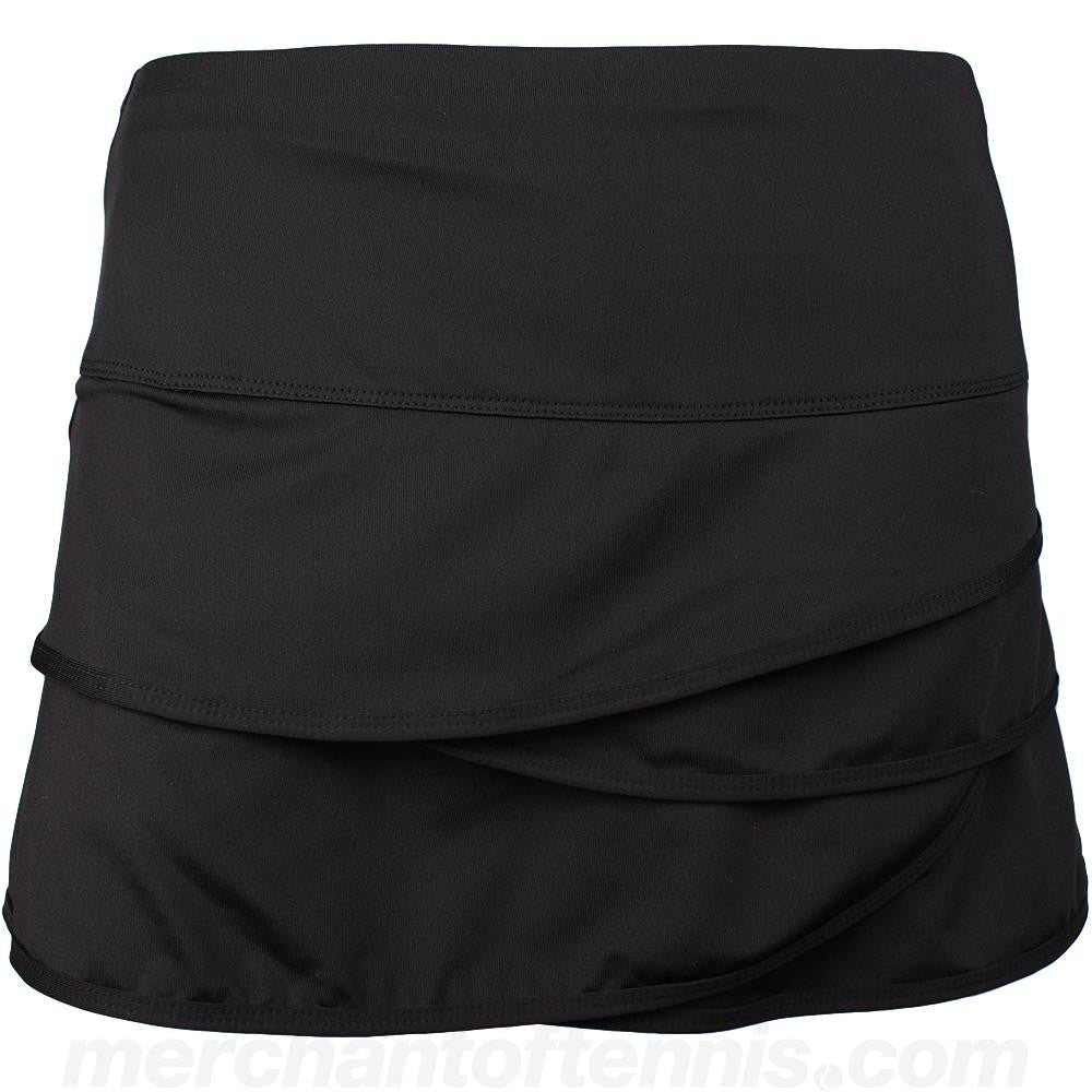 Lucky in Love Women's Core Scallop Skort Black