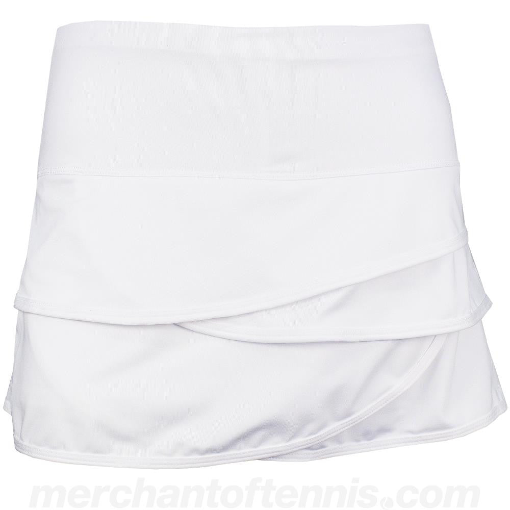 Lucky in Love Women's Core Scallop Skort - White