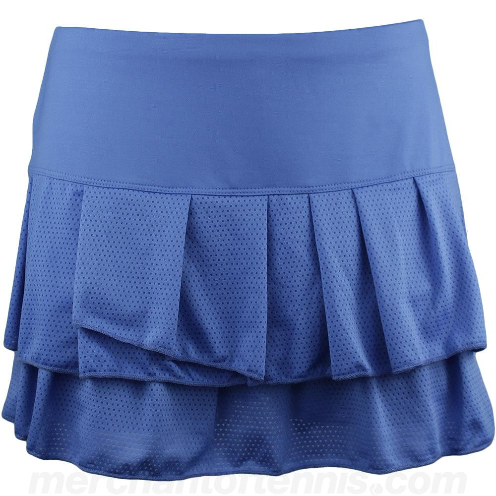 Lucky in Love Women's Fall Romantic Rebel Pleated Skort
