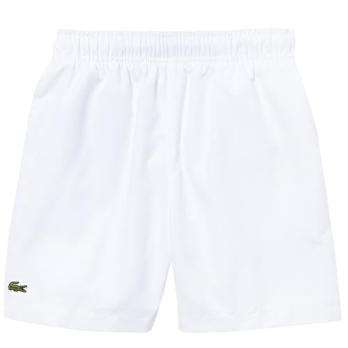 Lacoste Boys Lined Sport Shorts - White