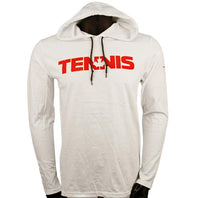 Men's Merchant of Tennis Long-Sleeve Shirt with Hoody