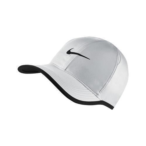 Nike Junior Featherlight Hat White/Black