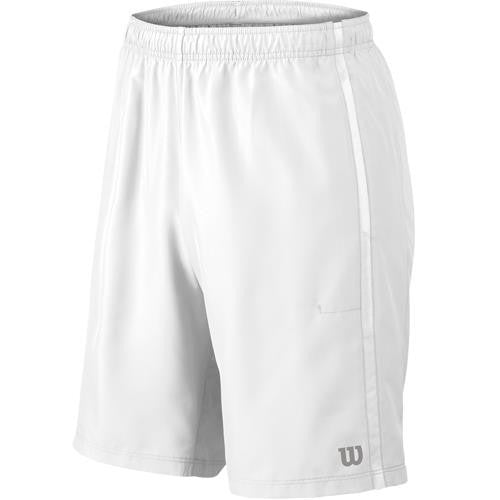 "Wilson Men's 10"" Woven Team Short - White"