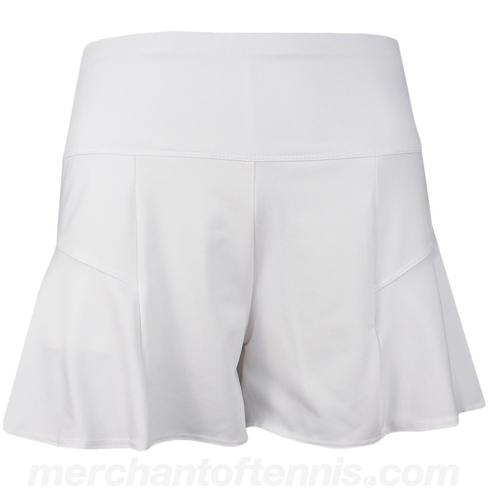 Lucky In Love Women's Sierra Flounce Short White