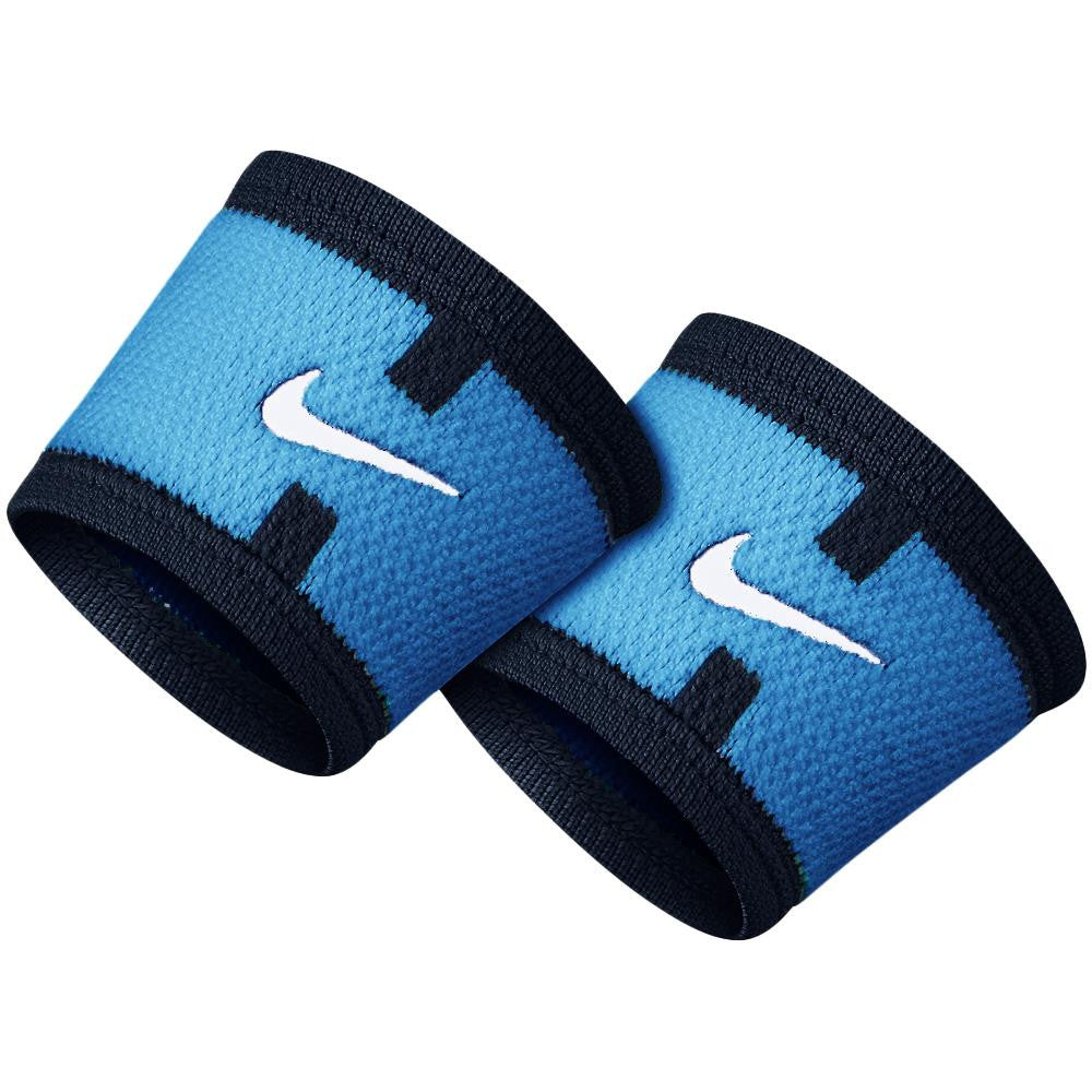 Nike Wristbands Stealth Court Logo Photo Blue/ Black