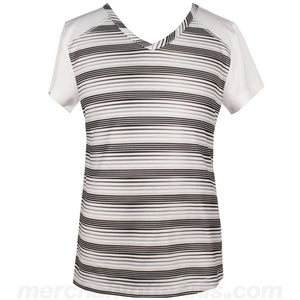 Prince Girls Striped Cap Sleeve
