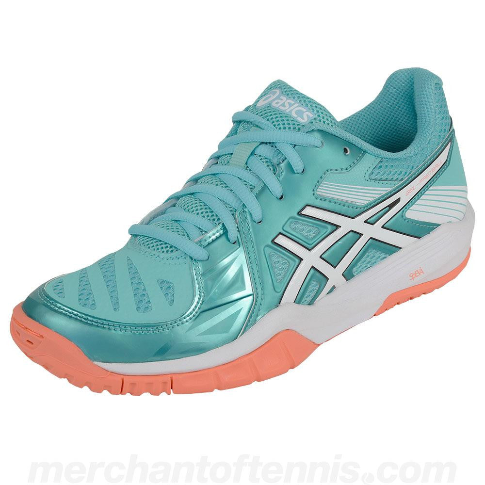 ASICS Women's 2016 Gel Fastball 2 Mint/White/Coral