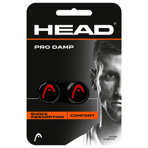 Head Dampener Pro Damp - Black/Red