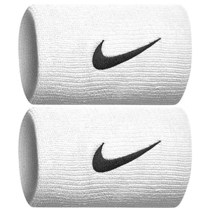 Nike Dri-Fit Doublewide Wristbands 2.0 White